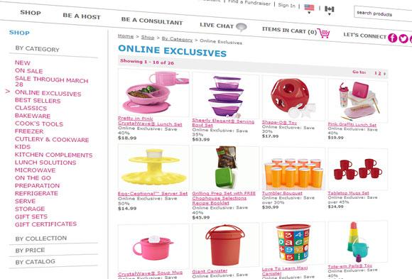 Tupperware lanserer nettbutikk